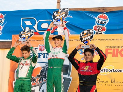 ROK CUP USA WEEKEND OF FLORIDA WINTER TOUR TAKES OFF