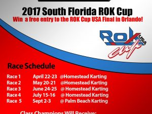 2017 SOUTH FLORIDA ROK CUP ROUND 1 SET FOR APRIL 22-23