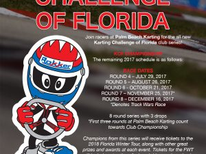 KARTING CHALLENGE OF FLORIDA AT PALM BEACH KARTING IS CREATED