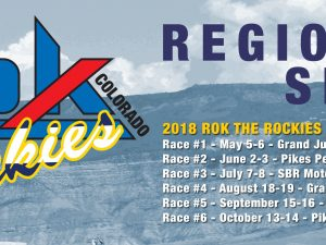 TRACKS CONFIRMED FOR ROK THE ROCKIES REGIONAL SERIES