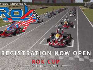 REGISTRATION IS OPEN FOR THE ROK CUP SIM CHALLENGE PRESENTED BY CONRAD GROUP INSURANCE AGENCY
