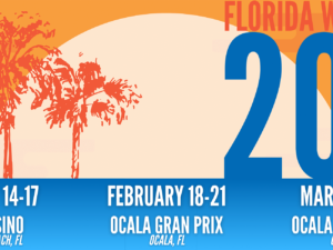 BREAKING NEWS: ROUND TWO OF 2021 FLORIDA WINTER TOUR MOVES TO OCALA GRAN PRIX
